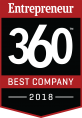 ParkMobile Entrepreneur360-Best Company 2018 Award