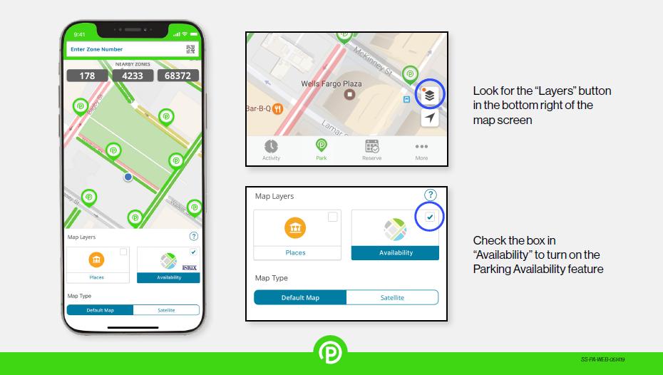 Parking Availability How It Works - ParkMobile Sales Sheet