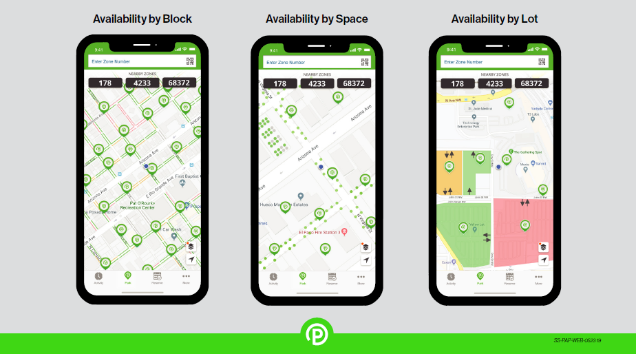 Parking Availability Illustrated - ParkMobile Sales Sheet