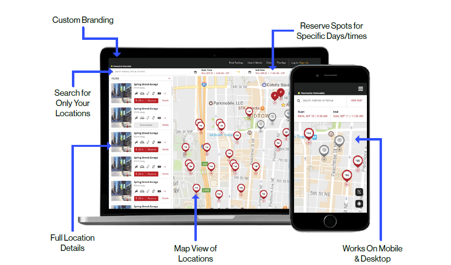 Smarter Way to Run Parking with ParkMobile Sales Sheet