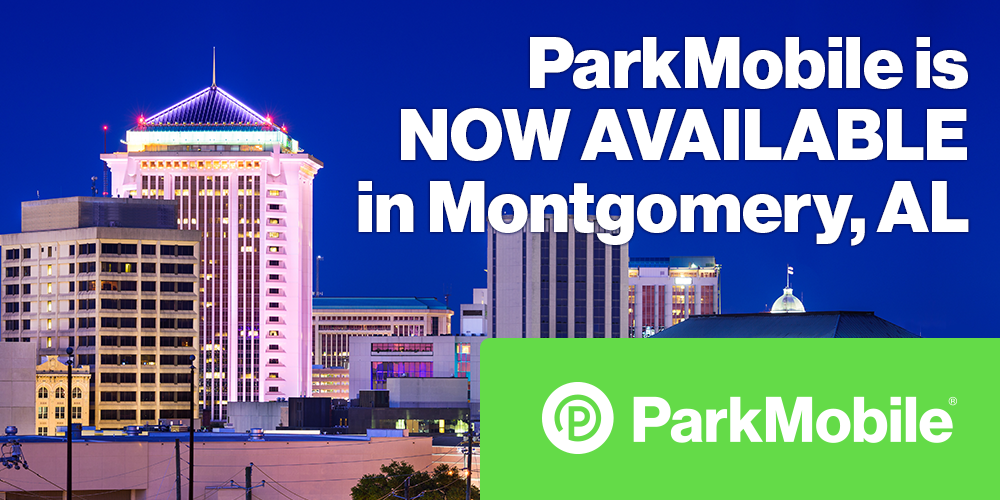 ParkMobile Launches Smart Parking in Montgomery, Alabama