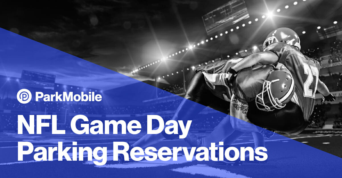 NFL Game Day Parking Reservations - ParkMobile