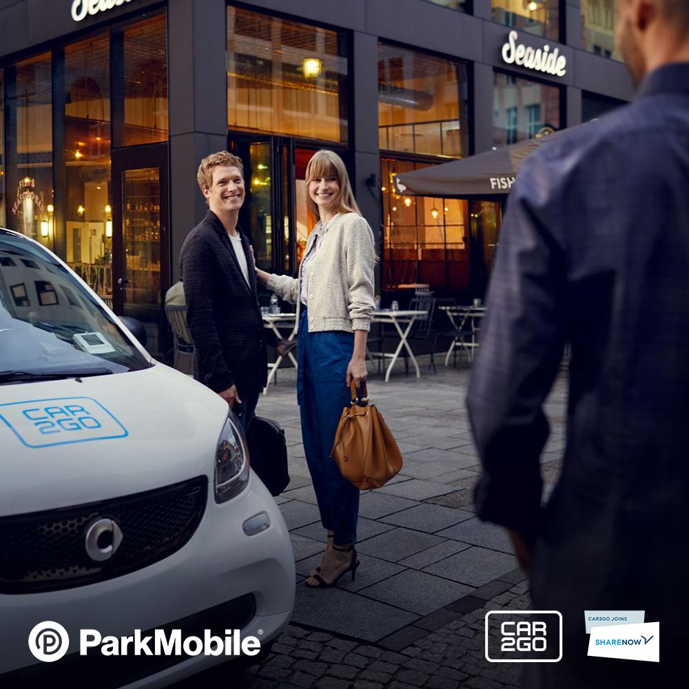 ParkMobile x car2go Parking Promotion