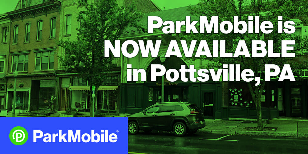 Pottsville Parking App Now Available - ParkMobile