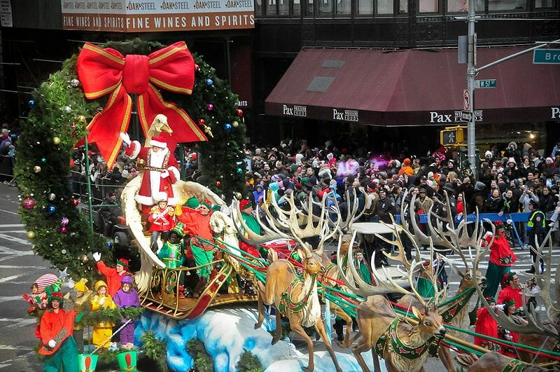 Reserve Parking for the Macy's Thanksgiving Day Parade