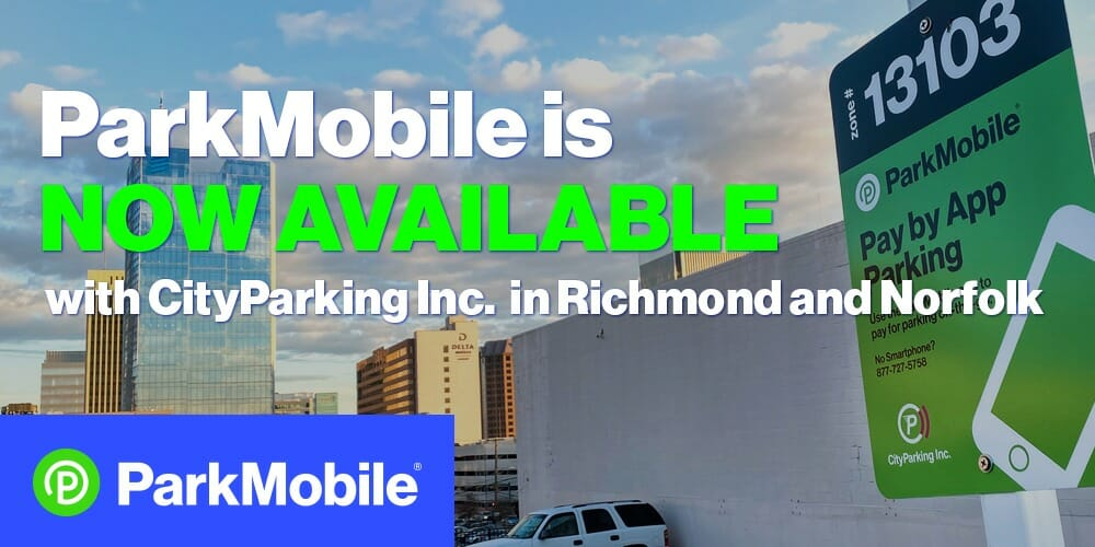 Parking in Richmond, VA with ParkMobile