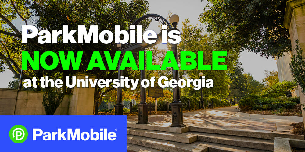 ParkMobile Now Available at the University of Georgia