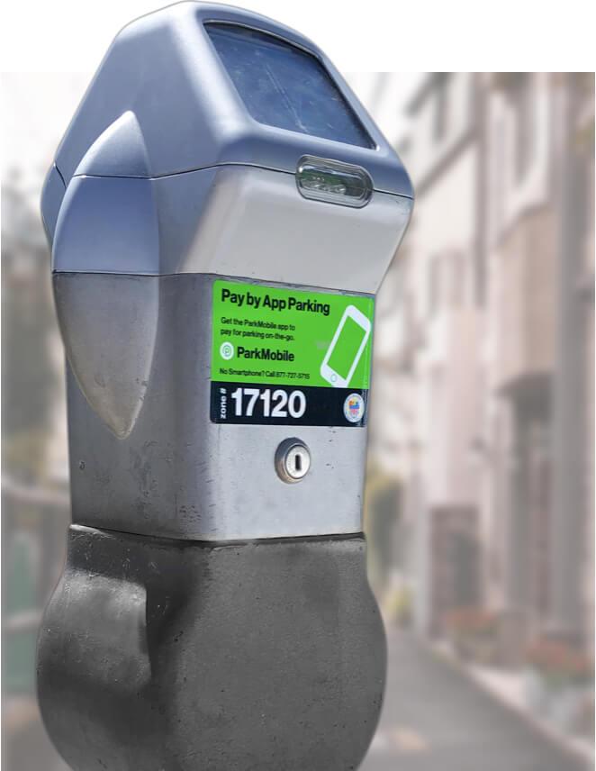 Parking Meter - ParkMobile