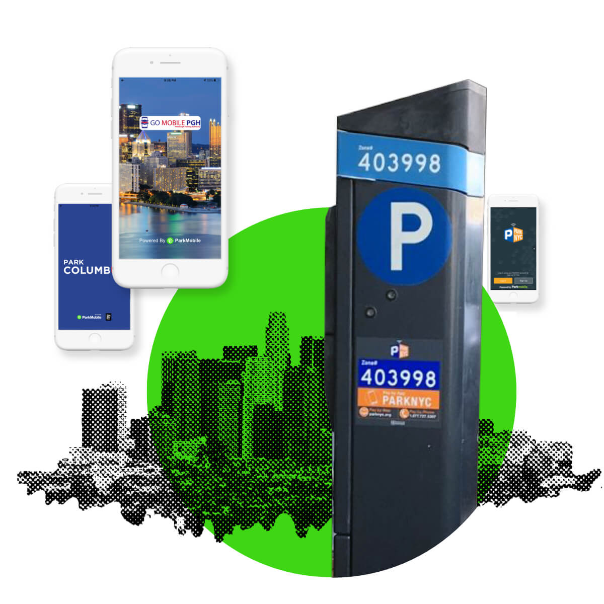 White-Label Reservation Parking Solution - ParkMobile