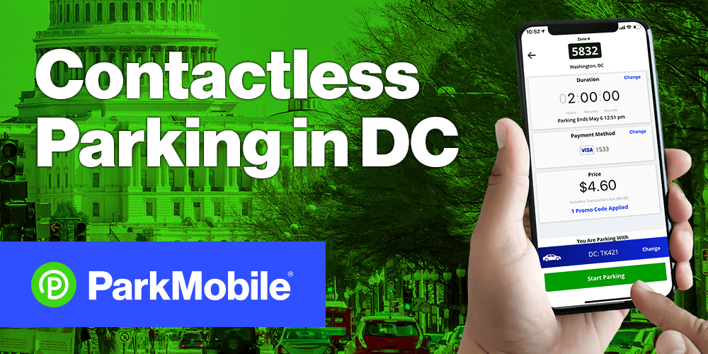Contactless Parking in DC ParkMobile