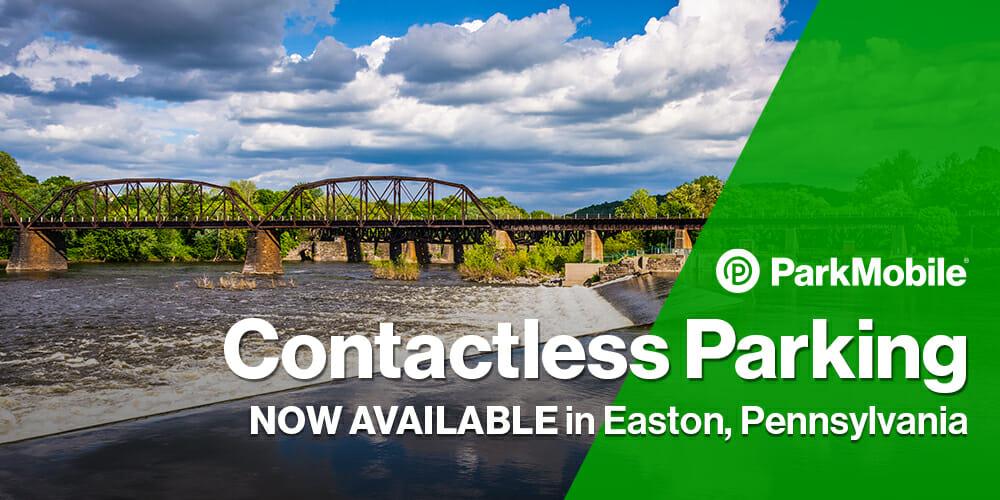 Contactless Parking Easton Pennsylvania