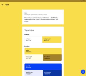 Core UI Custom Owl Theme