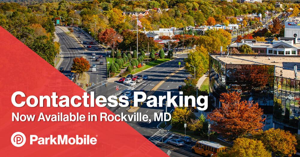 Rockville Maryland Parking ParkMobile