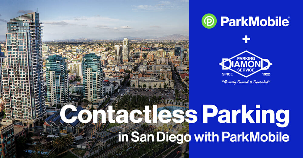 ParkMobile Expands Presence in San Diego Through a New Partnership with Diamond Parking