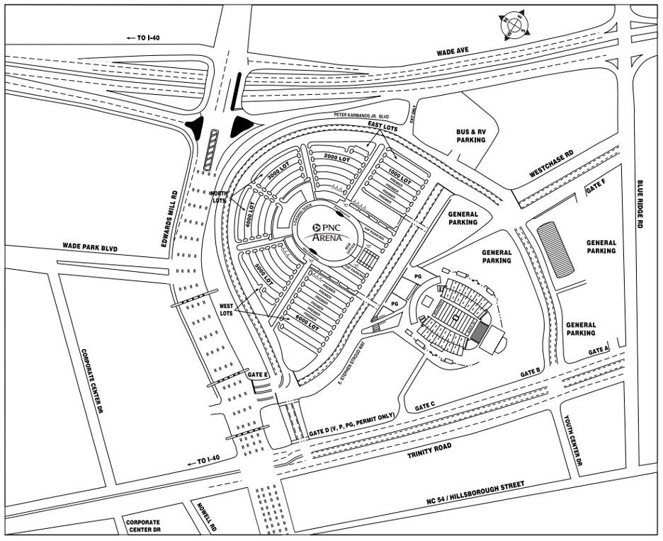 PNC Parking Map - ParkMobile